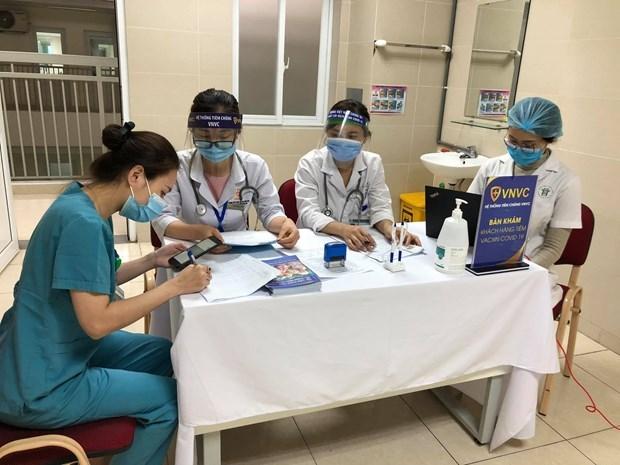 Hanoi elabora planes para la vacunacion masiva hinh anh 1