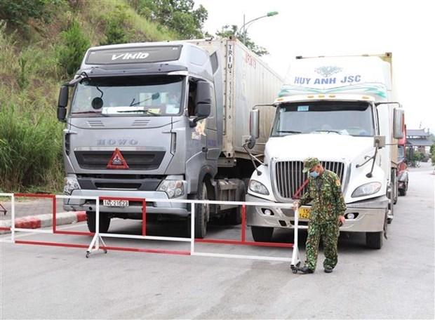 Provincia vietnamita trabaja por vigorizar comercio fronterizo con China hinh anh 1