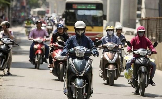 Enfrentara Vietnam ola de calor en primeros dias de julio hinh anh 1