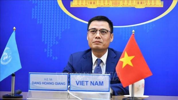 Vietnam llama a poner fin a la guerra y proteger a ninos en conflictos armados hinh anh 1