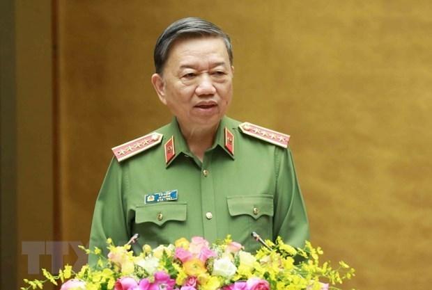 Ministerio vietnamita de Seguridad Publica fomenta cooperacion con Indonesia hinh anh 1