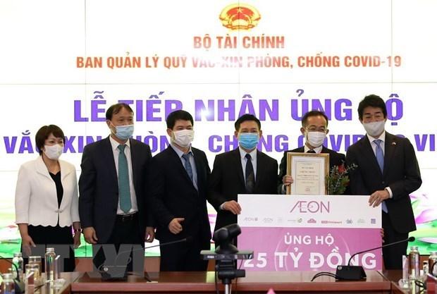 Fondo de vacunas contra el COVID-19 de Vietnam asciende a 338 millones de dolares hinh anh 1