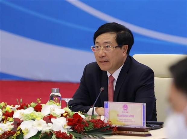Efectua Vietnam coloquio con empresarios estadounidenses hinh anh 1
