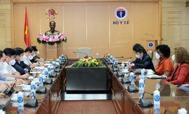 Vietnam solicita apoyo al BM para produccion de vacunas contra COVID-19 hinh anh 2