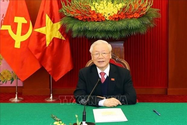 Felicita Vietnam al reelegido secretario general del Partido Comunista de Grecia hinh anh 1