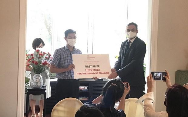 Entregan premios del concurso sobre patrimonios de paises centroeuropeos en Vietnam hinh anh 1