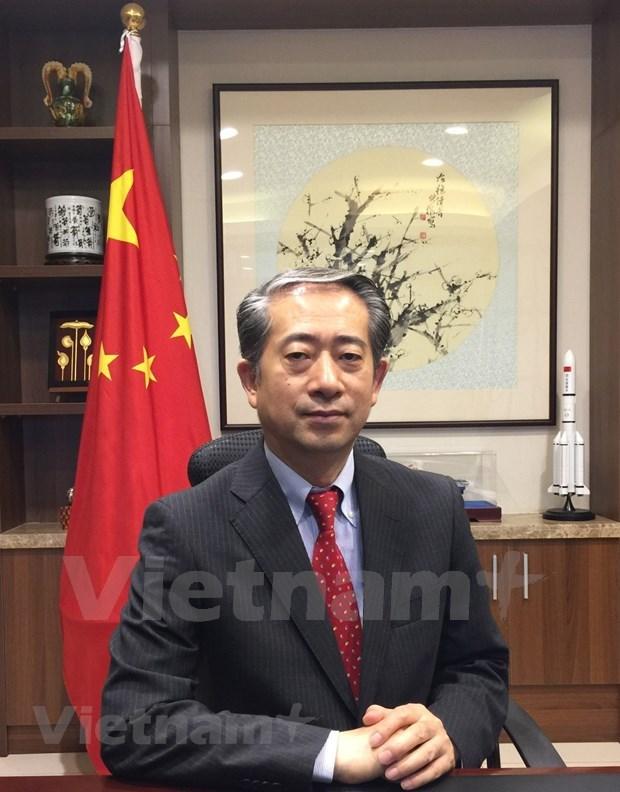 Partidos Comunistas de Vietnam y China comparten mismo destino, segun embajador hinh anh 1