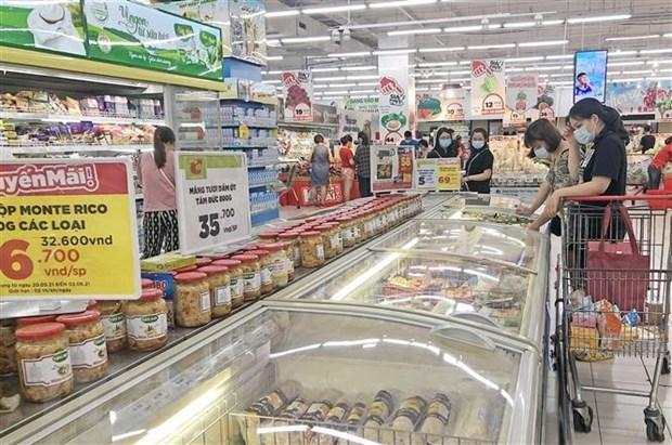 Crece Indice de precios al consumidor de Hanoi entre enero y junio hinh anh 1
