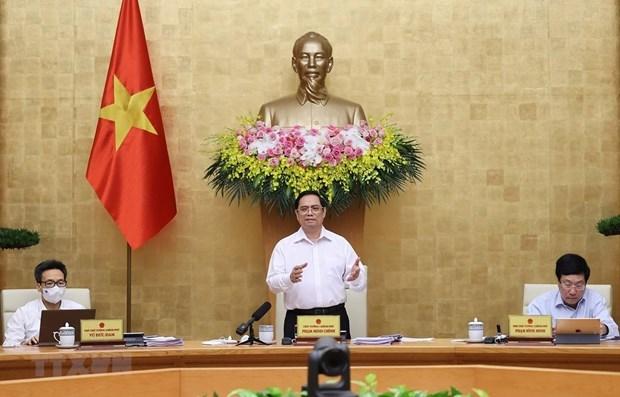 Vietnam insiste en su objetivo del crecimiento economico hinh anh 1
