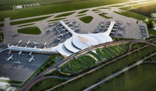 Construiran en Vietnam terminal del aeropuerto de Long Thanh a principios de 2022 hinh anh 1