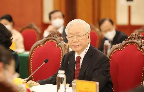 Aprecian en Francia pensamiento de dirigente partidista vietnamita sobre el socialismo hinh anh 2