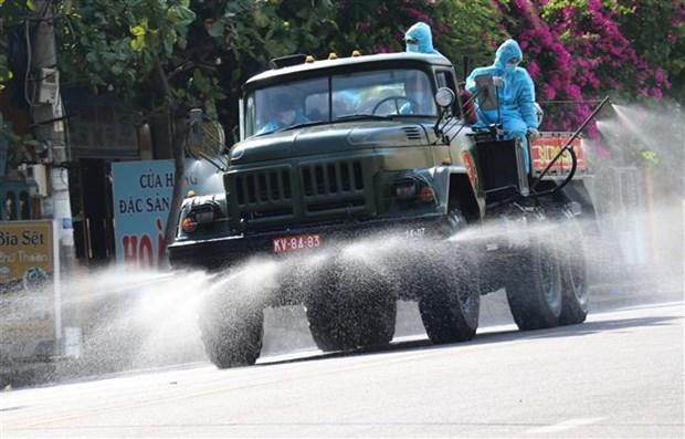 Vietnam supera los 18 mil casos del COVID-19 hinh anh 1