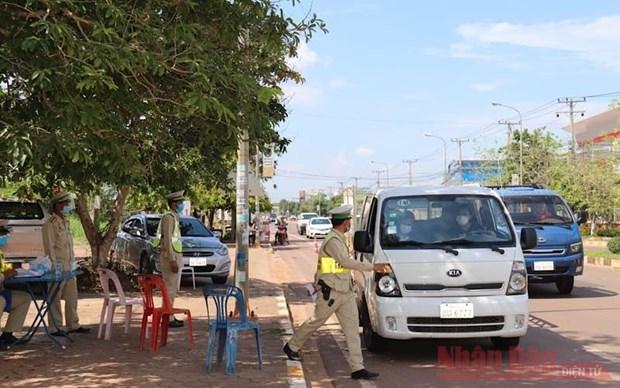 COVID-19: Laos continua extendiendo la orden de cierre por 15 dias hinh anh 1