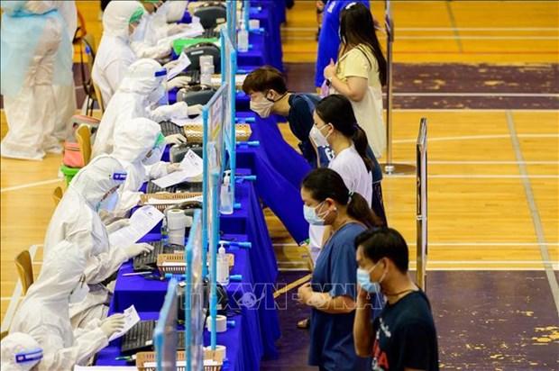 Tailandia eleva capacidad de hospital de campana ante el COVID-19 hinh anh 1