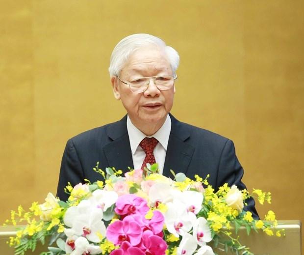 Secretario general del PCV asiste a Cumbre del Partido Comunista de China con otras fuerzas politicas hinh anh 1