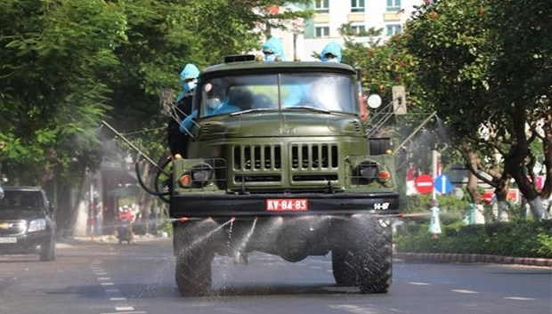 Hanoi detecto 10 nuevos casos de COVID-19 hinh anh 1