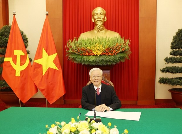 Periodista chino destaca vision estrategica del maximo dirigente de Vietnam sobre causa revolucionaria hinh anh 2