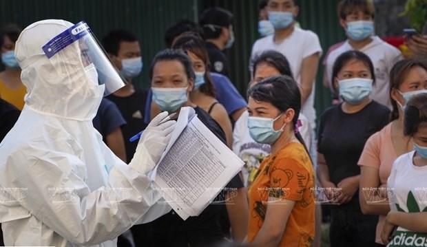 Ciudad Ho Chi Minh prepara plan de respuesta para escenario con 15 mil casos de COVID-19 hinh anh 1