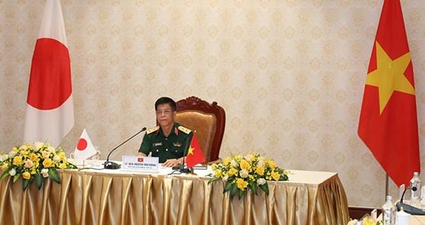 Fuerzas de infanteria de Vietnam y Japon aumentan la cooperacion hinh anh 1