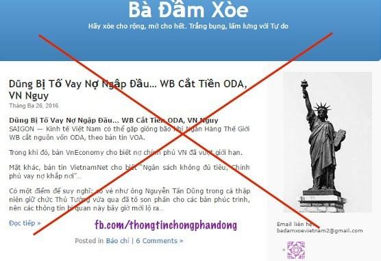 Condenan a bloguero vietnamita por propaganda contra el Estado hinh anh 1