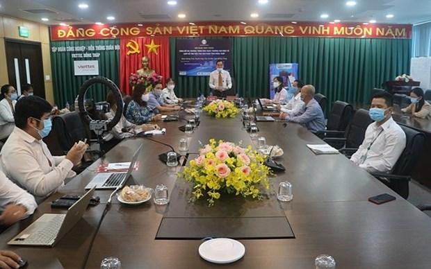 Provincia vietnamita ayuda a empresas a vender productos en plataformas digitales hinh anh 1