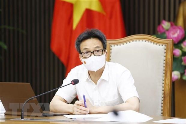 Vicepremier vietnamita pide aplicacion estricta de medidas de distanciamiento social hinh anh 1