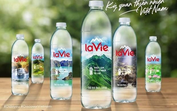 Presentan 100 maravillas naturales de Vietnam en botellas de agua La Vie hinh anh 2
