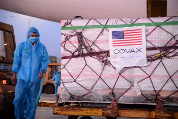 Mas de dos millones de dosis de vacuna Moderna llegan a Vietnam hinh anh 1