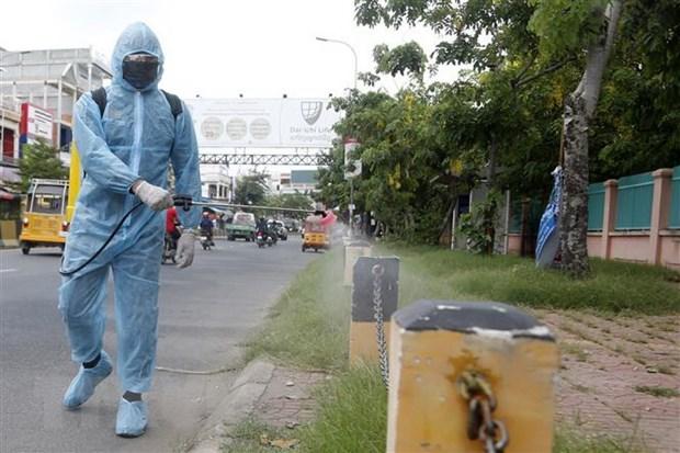Camboya intensifica prevencion contra COVID-19 en areas fronterizas hinh anh 1