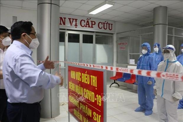 Premier insta a reforzar control del COVID-19 en Tay Ninh y Long An hinh anh 2