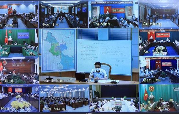 Piden a Delta del Mekong redoblar vigilancia por COVID-19 hinh anh 1