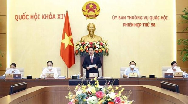 Sesiona reunion 58 del Comite Permanente del Parlamento de Vietnam hinh anh 1