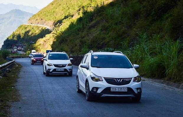 Disminuyen ventas de automoviles en Vietnam en junio hinh anh 1