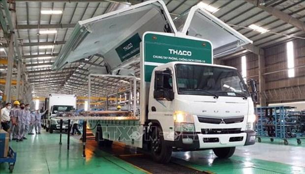THACO dona camiones especializados para transporte de vacunas y vacunacion movil hinh anh 2