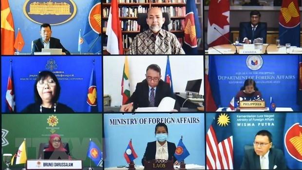 Efectuan XVIII Dialogo ASEAN-Canada hinh anh 1