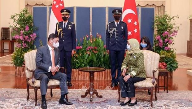 Singapur y Vietnam fortalecen nexos de cooperacion e inversion hinh anh 1