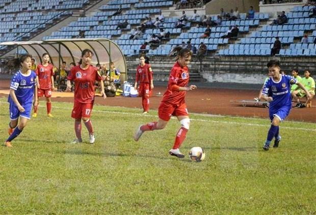 Seleccion femenina de futbol de Vietnam se reune para la Copa Asiatica 2022 hinh anh 1