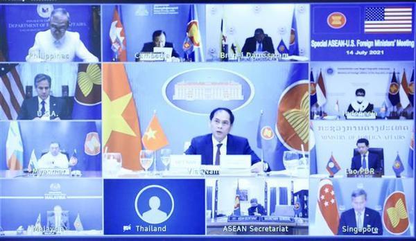 Vietnam enfatiza importancia de nexos ASEAN-EE.UU para el desarrollo regional hinh anh 1
