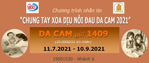 Continuan en Vietnam programa de apoyo a victimas de dioxina hinh anh 1