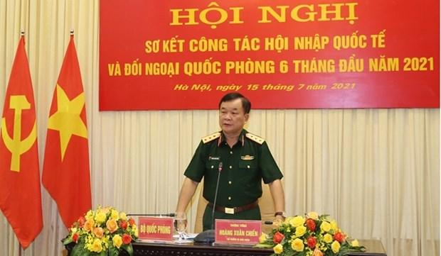 Vietnam fomenta labores de integracion internacional y diplomacia de defensa hinh anh 1