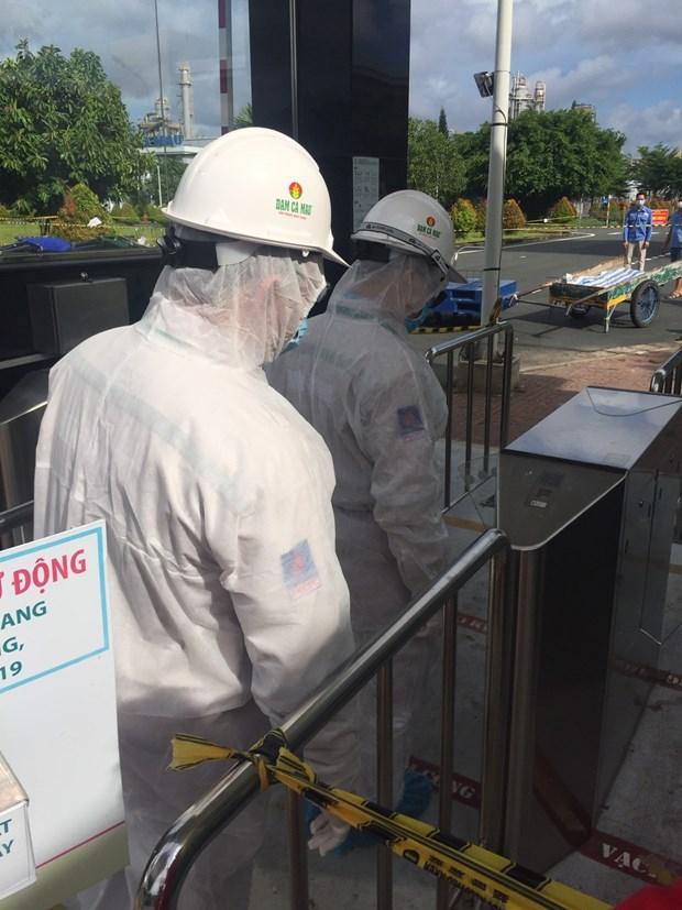 Petrovietnam por garantizar labores antiepidemicas en obras petroleras hinh anh 3