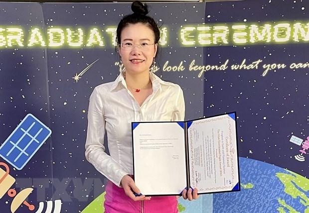 Investigadora vietnamita recibe premio internacional por estudio sobre salinidad hinh anh 1