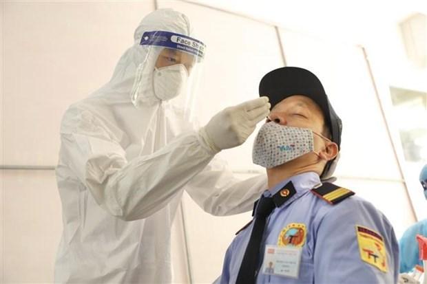Vietnam amanece con dos mil 106 nuevos casos del COVID-19 hinh anh 1