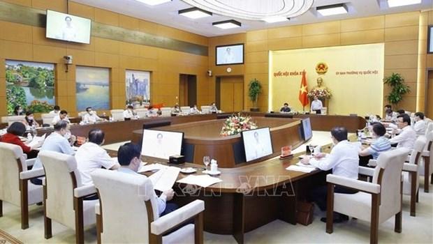 Acelera Vietnam preparativos del primer periodo de sesiones parlamentarias de XV legislatura hinh anh 1