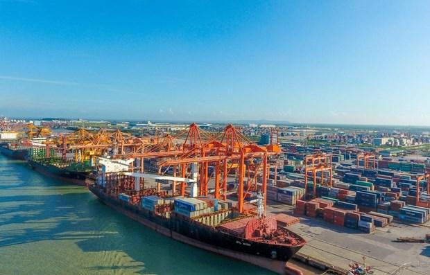 Aumenta volumen de mercancias despachadas por puertos maritimos de Vietnam hinh anh 1