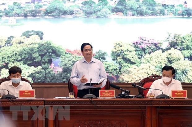 Instan consolidar papel de Hanoi como