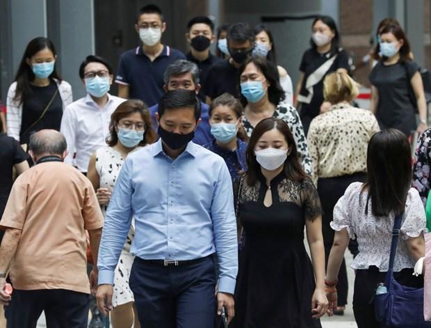 Singapur, con mayor numero de nuevos casos del COVID-19 en 11 meses hinh anh 1