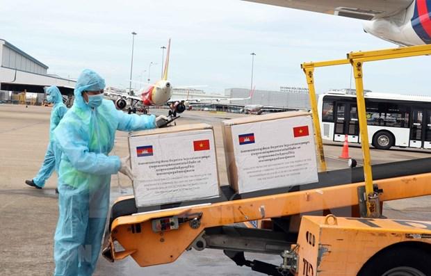 Camboya apoya a Ciudad Ho Chi Minh en el combate contra COVID-19 hinh anh 1