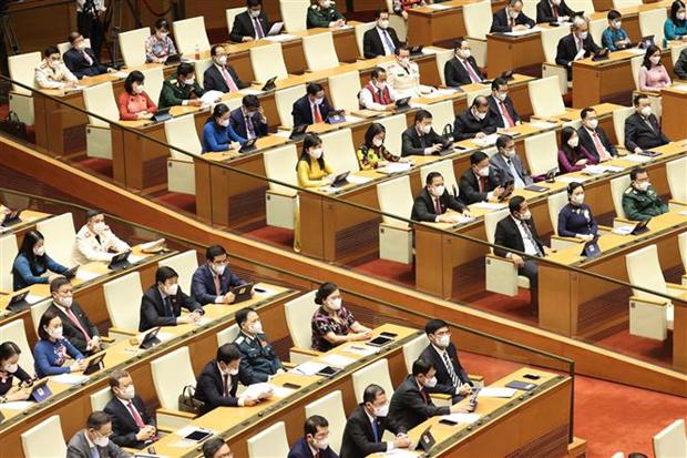 Inauguran primer periodo de sesiones del Parlamento vietnamita hinh anh 2