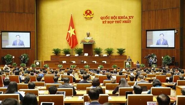 Inauguran primer periodo de sesiones del Parlamento vietnamita hinh anh 1